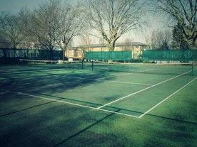 Popular Recreation Ground tennis court