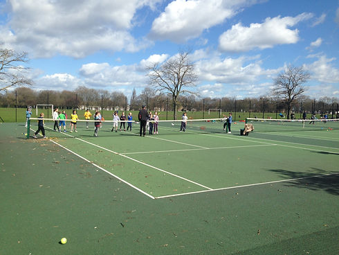 tennis holiday camps