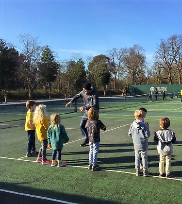 tennis courses for kids