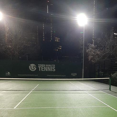 St. John's Park tennis court