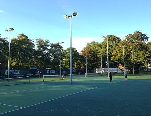 Bethnal Green Gardens tennis court