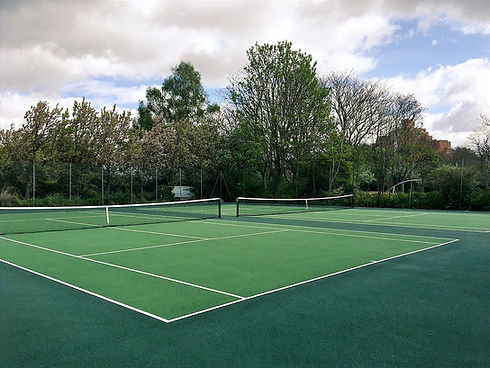 King Edward Memorial Park tennis court