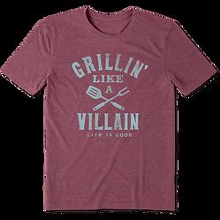Mens-Grillin-Like-A-Villain-Cool-Tee_655