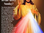 This is the Sunday of Divine Mercy!