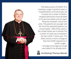 08-15-21 Archbishop Wenski Covid announcement