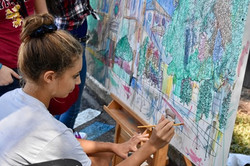 Fall Music Festival 2017 094 painting color