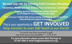 08-23-21 Faith Formation vols
