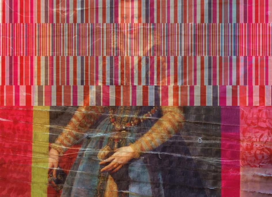 Trabajo iconográfico de investigación sobre tela   Desarrollo de 10 increíbles historias de íconos de l feminismo de todos los tiempos ecnica mixta con textil