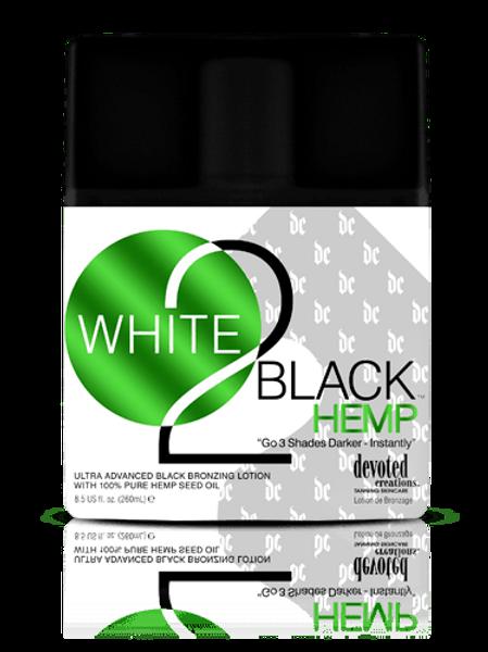 WHITE 2 BLACK HEMP BRONZING LOITON