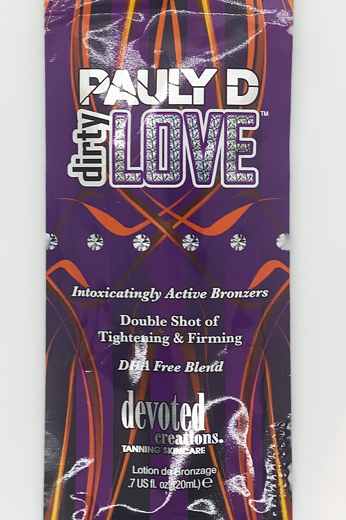 Pauly D Dirty Love - bronzing lotion