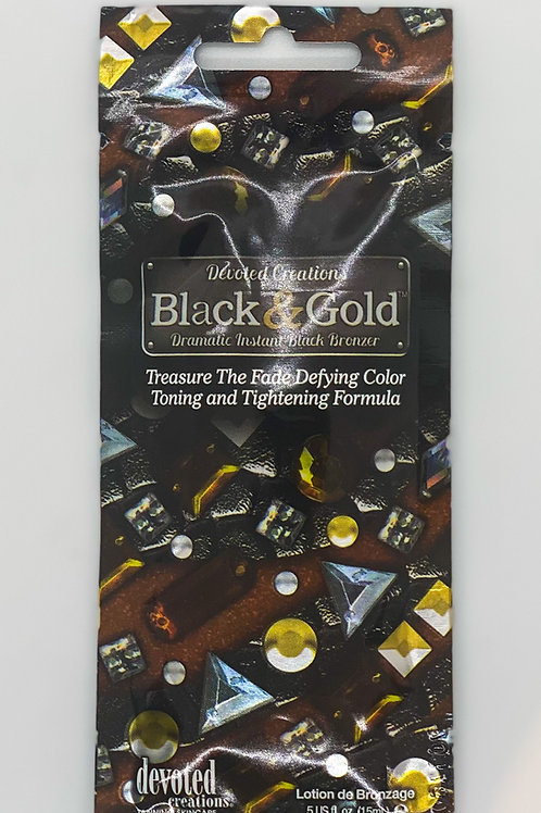 Black & Gold - bronzing Lotion