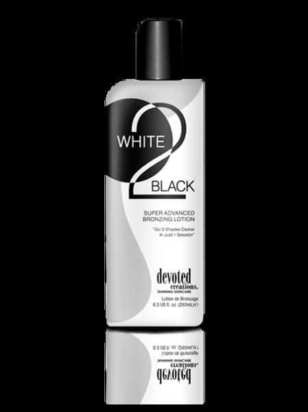 WHITE 2 BLACK BRONZING LOTION