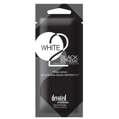 WHITE 2 BLACK BRONZING SACHET