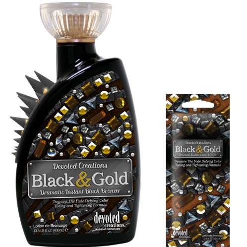 BLACK & GOLD BRONZING SACHET