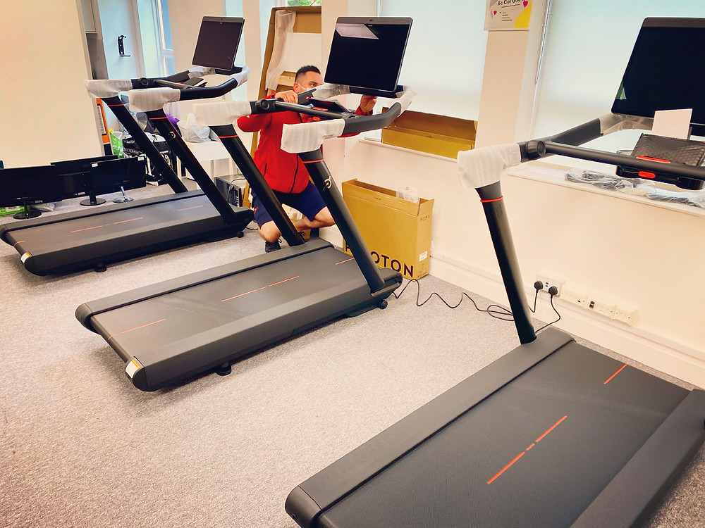 Moving Peleton Bike or Treadmill