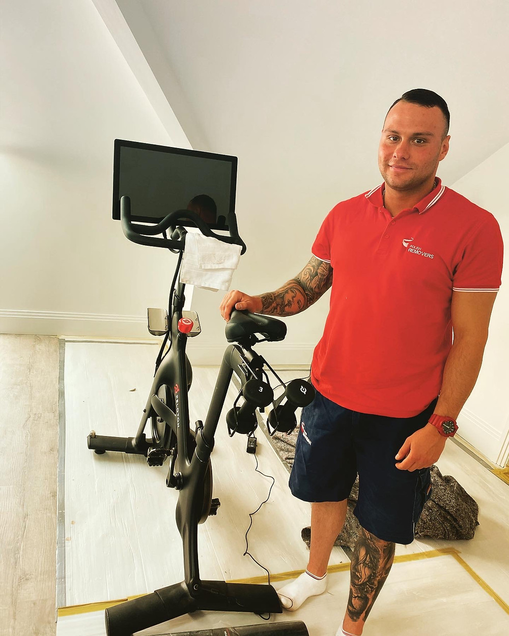 Home fitness machines like NordicTrack, Hydrow (Rower) rowing machine - London Removals - Man and Van -Storage