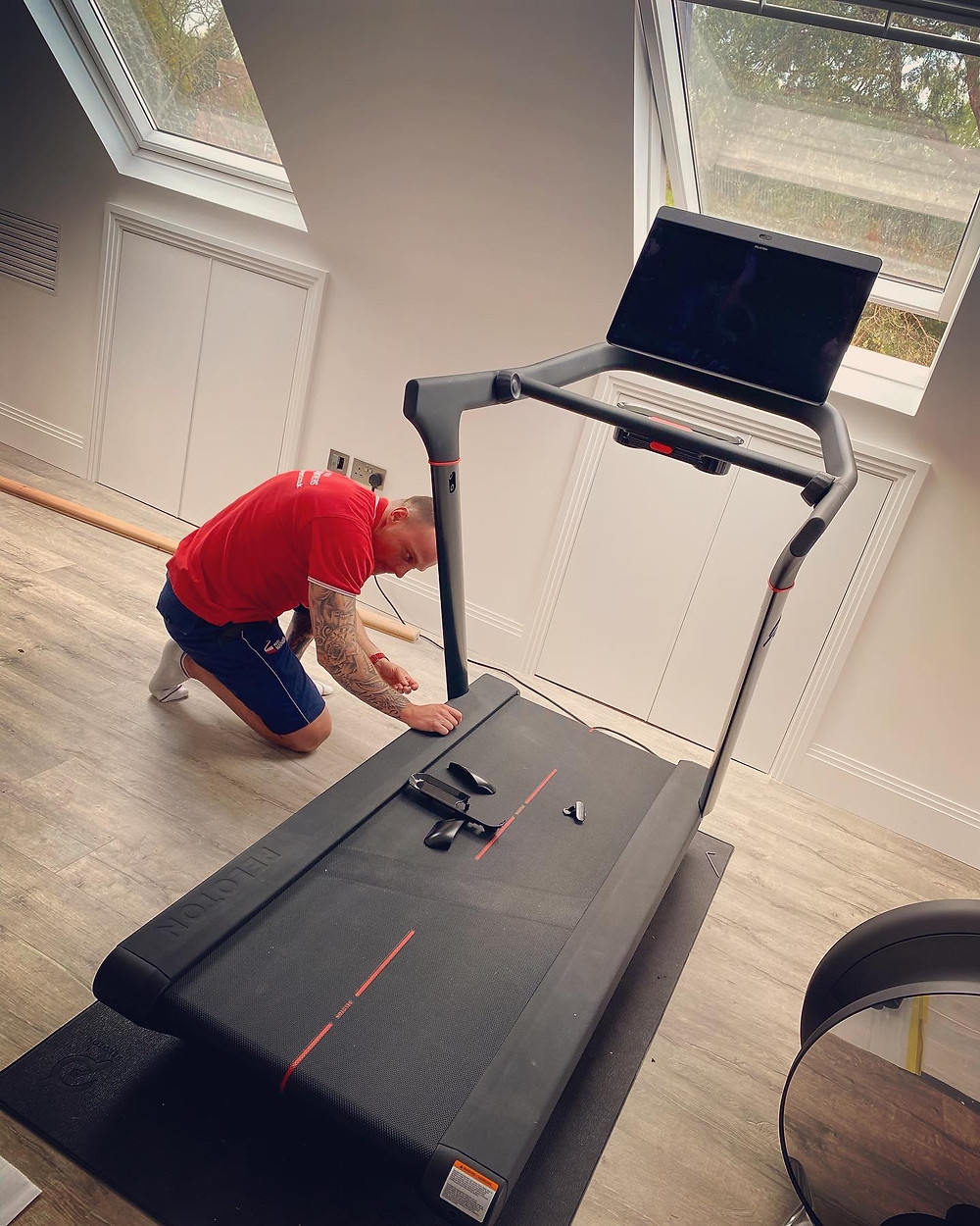 Peloton Treadmill London Removals - Man and Van - Storage