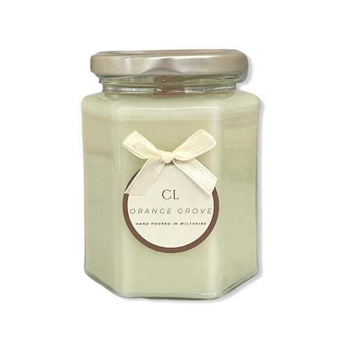 Crackle Wick Jar Candle