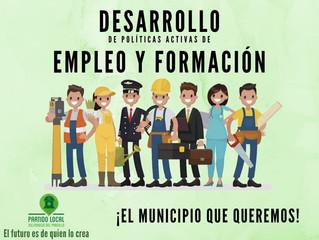 ¡El municipio que queremos! Decimoséptimo compromiso de gobierno: Desarrollo de políticas activas de