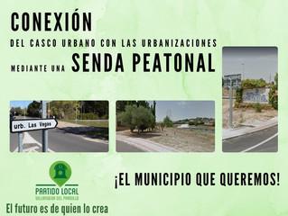 ¡El municipio que queremos! Séptimo compromiso de gobierno: Conexión del casco urbano con las urbani
