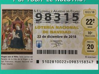 Disponible Lotería de Navidad en la sede del partido
