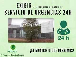 ¡El municipio que queremos! Decimoquinto compromiso de gobierno: Exigir a la Comunidad de Madrid un