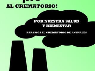 """23 SEPTIEMBRE (12:00) - MANIFESTACIÓN """"¡NO AL CREMATORIO!"""" EN LA PLAZA MAYOR (VILLANUEVA D"""