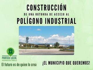 ¡El municipio que queremos! Sexto compromiso de gobierno: Construcción de una rotonda de acceso al p