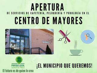 ¡El municipio que queremos! Vigésimo compromiso de gobierno: Apertura de servicios de cafetería, pel