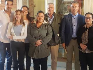 Partido Local acude al concurso literario Maestro Miguel