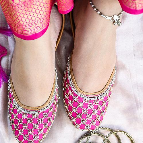 Rani Pink Juttis