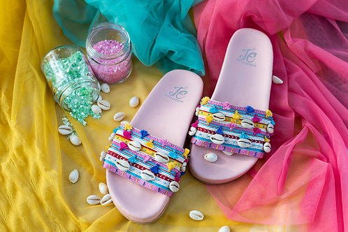 Pink Sliders Front