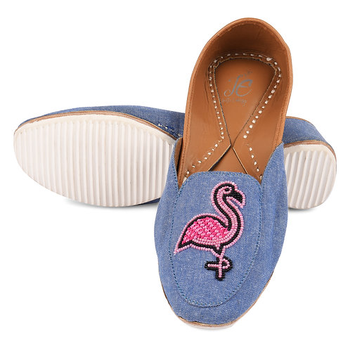 Blue Loafers Front Side