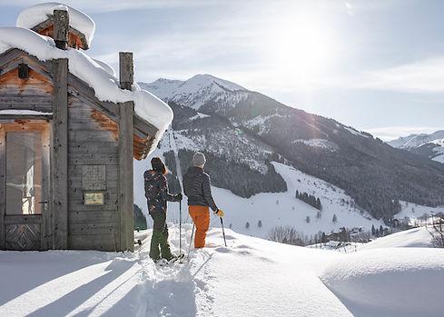 Schneeschuh und Winterwandern-saalbach-2