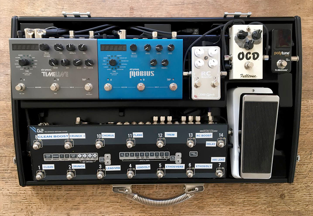 GALLERY | Schmidt Array Custom Pedalboards