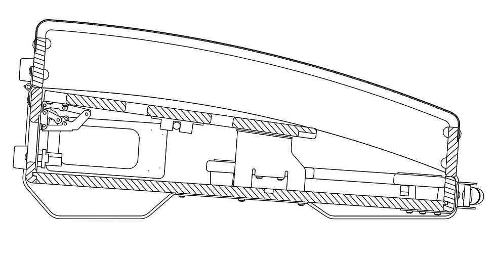 SA675XDM Lid
