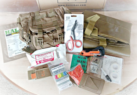 BattlBox Mission 36: Mass Casualty Response Kit