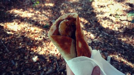Camp Breakfast: Banana Burritos!