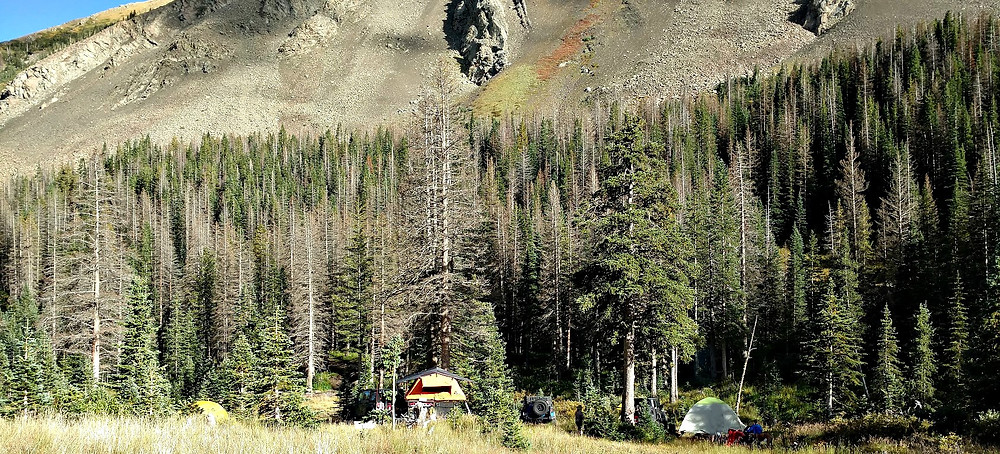 Hermit Pass camping