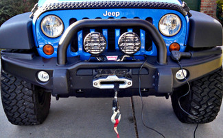 Why I Love my Winch (and other features of AEV's front bumper)