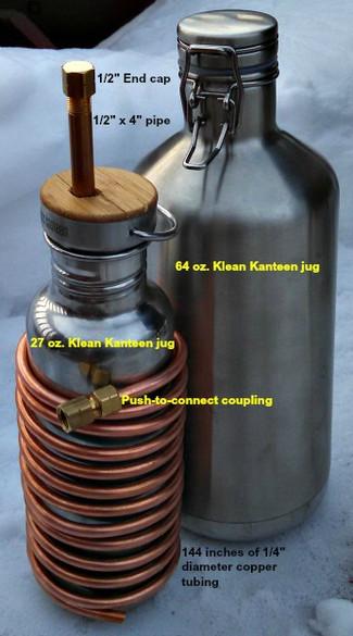 DIY Camp Water Distiller