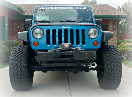 Fender Upgrade: Cut JK Fender Flares
