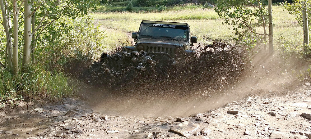 Hermit Pass mud