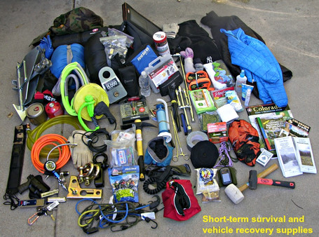 Preparedness 101: Packing for Short-term Survival and Vehicle Recovery