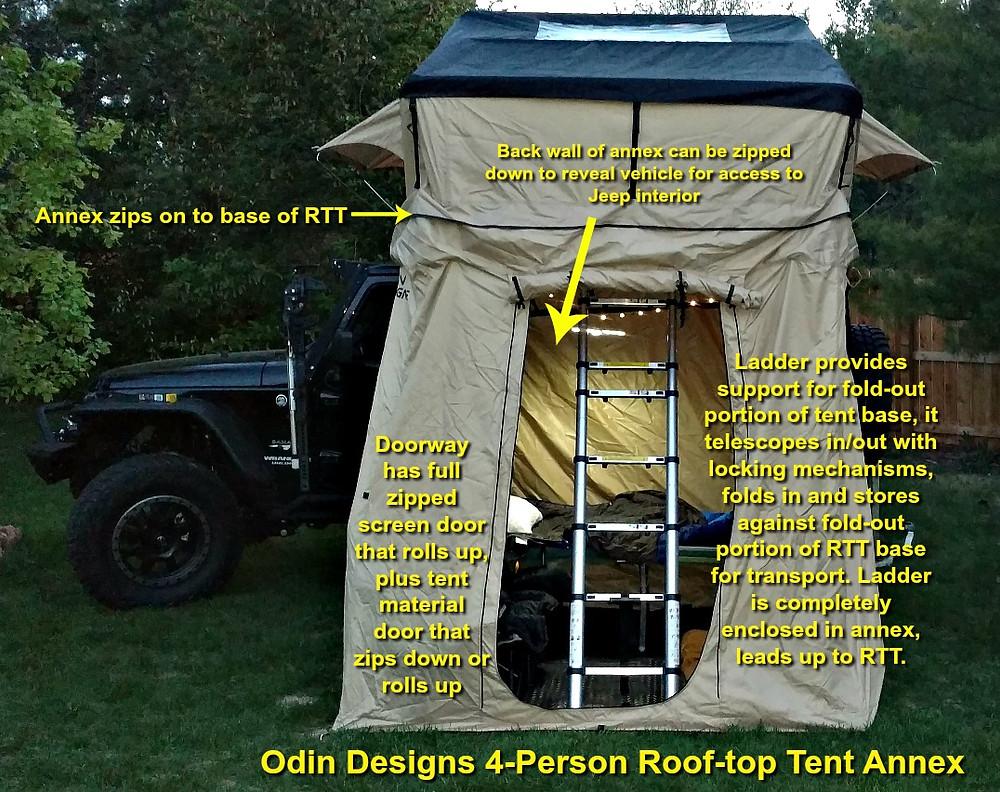roof-top tent