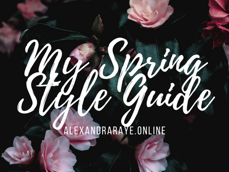 My Spring Style Guide