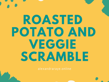 Easy Potato and Veggie Scramble