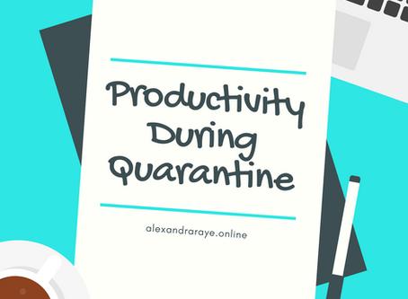 Productivity During Quarantine