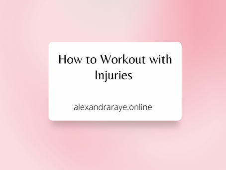 How to Workout with Injuries