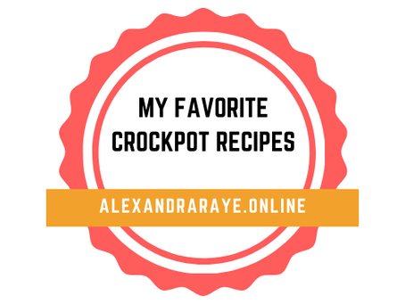 My Favorite Crockpot Recipes